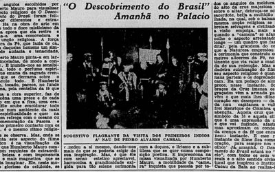15/04/2019 – DISPUTA YOUTUBE: O Descobrimento do Brasil – Humberto Mauro (1937)